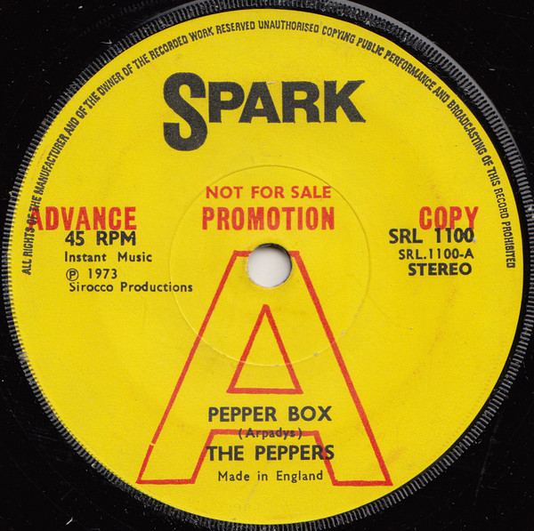 The Peppers - Pepper Box