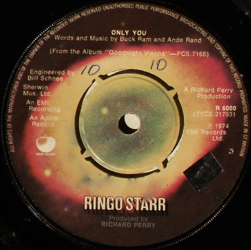 Ringo Starr - Only You b/w Call Me
