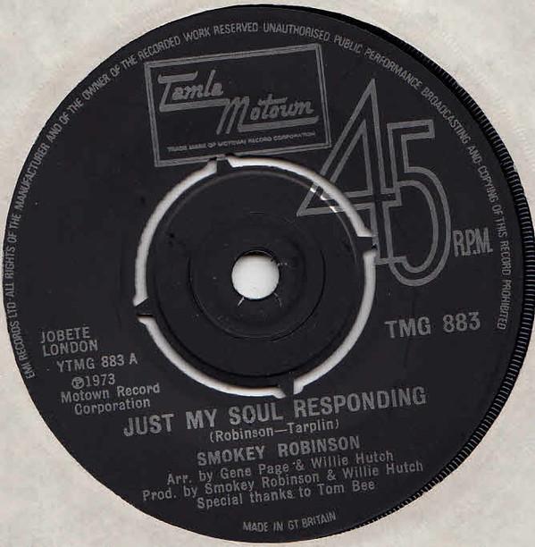 Smokey Robinson - Just My Soul Responding
