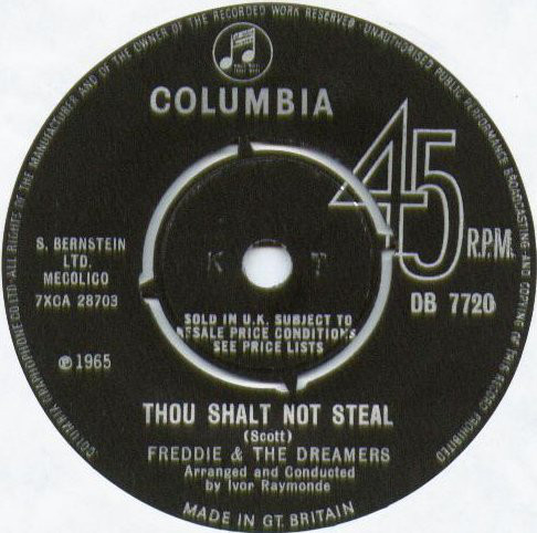 Freddie & The Dreamers - Thou Shalt Not Steal
