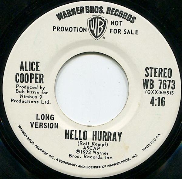 Alice Cooper - Hello Hurray