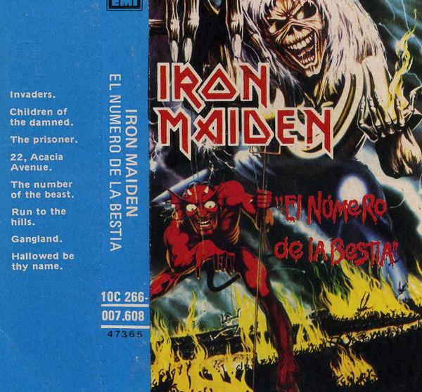 Iron Maiden - El N?mero De La Bestia