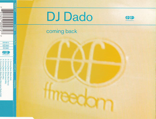 DJ Dado - Coming Back