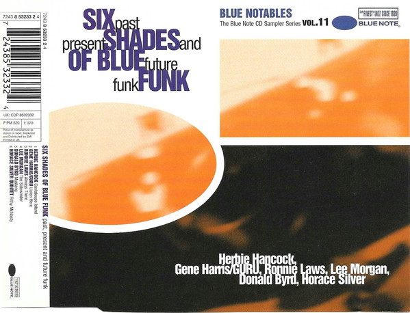 Various - Blue Notables Vol. 11 : Six Shades Of Blue Funk