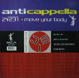 ANTICAPPELLA - 2?231 / Move Your Body