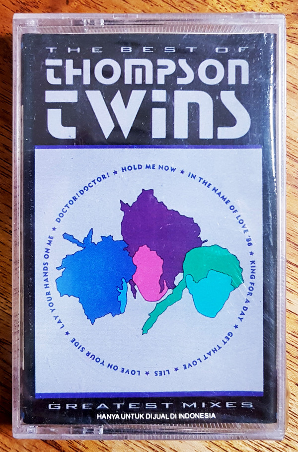 The Thompson Twins - The Best Of Thompson Twins / Greatest Mixes