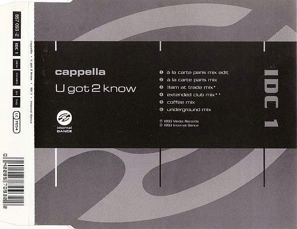 Cappella - U Got 2 Know