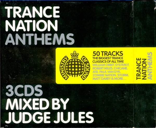 Judge Jules - Trance Nation Anthems