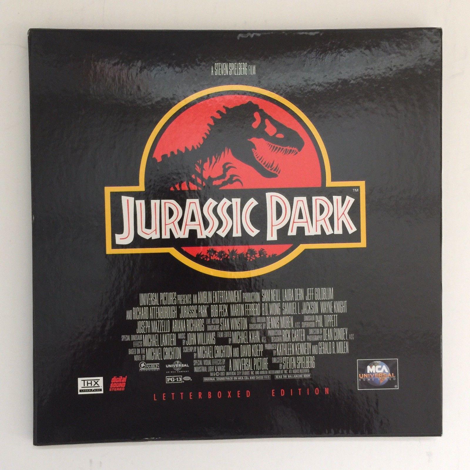 STEVEN SPEILBERG - Jurassic Park Collector's Box Set - Laser Disc