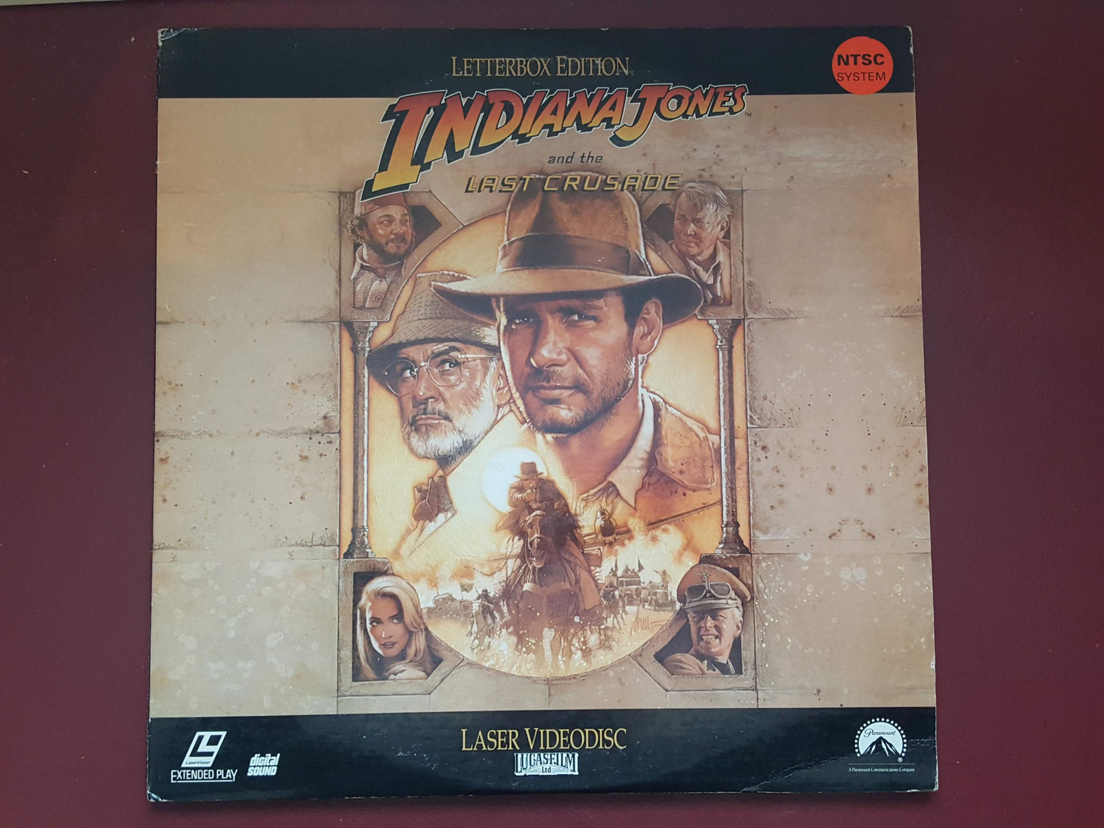 Harrison Ford - Sean Connery - Indiana Jones and the Last Crusade