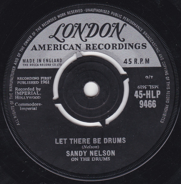 Sandy Nelson - Let There Be Drums