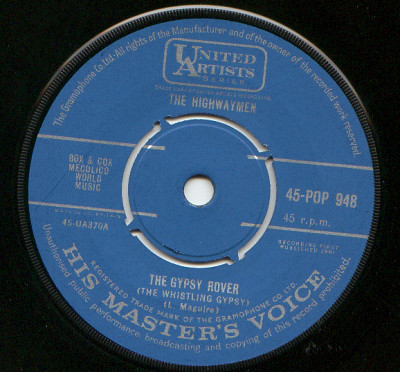 The Highwaymen - The Gypsy Rover