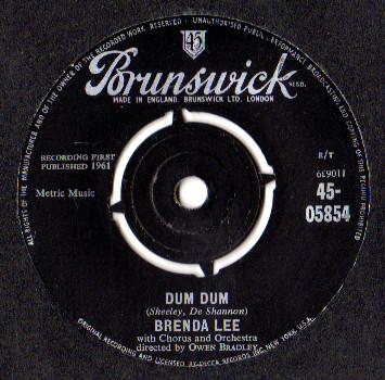Brenda Lee - Dum Dum