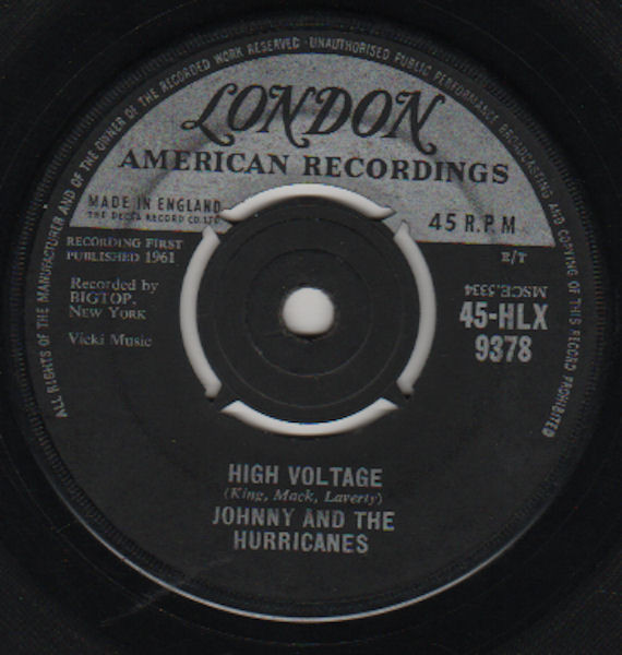 Johnny And The Hurricanes - High Voltage