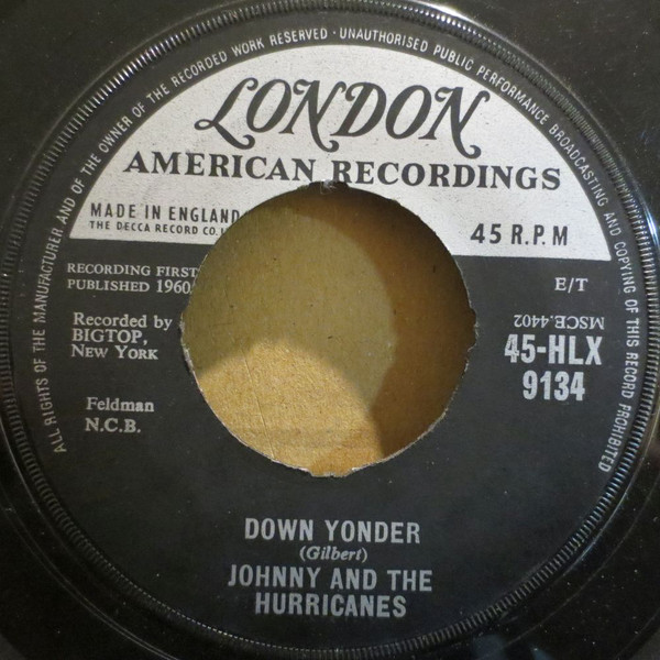 Johnny And The Hurricanes - Down Yonder