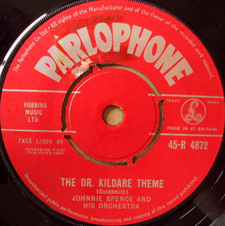 Johnnie Spence And His Orchestra - The Dr. Kildare Theme