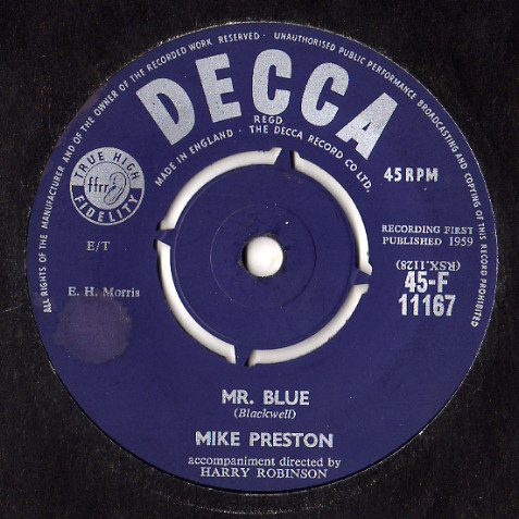 Mike Preston - Mr. Blue