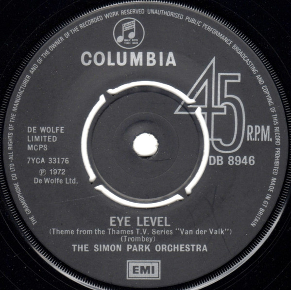 The Simon Park Orchestra - Eye Level