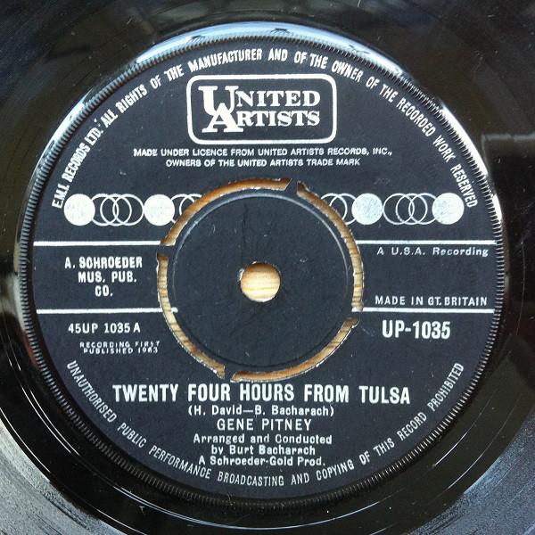 Gene Pitney - Twenty Four Hours From Tulsa