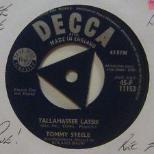 Tommy Steele - Tallahassee Lassie