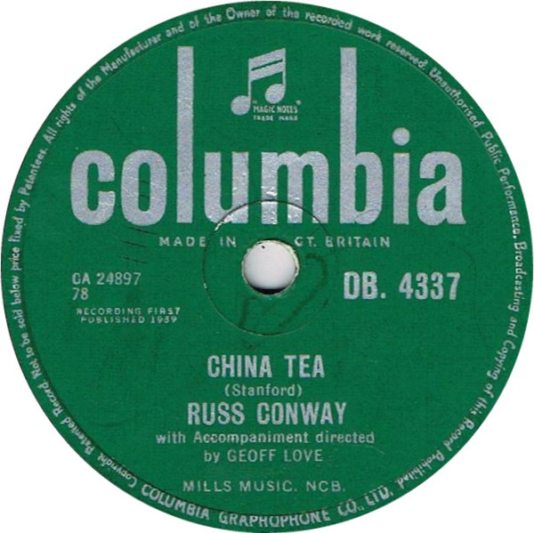 Russ Conway - China Tea / The Wee Boy Of Brussels