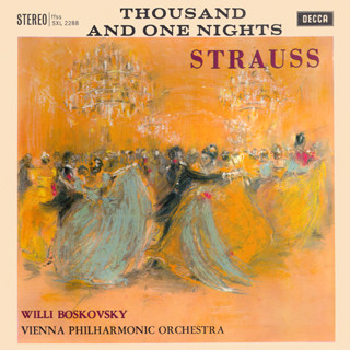 Strauss, Willi Boskovsky, Vienna Phil. -  Thousand And One Nights