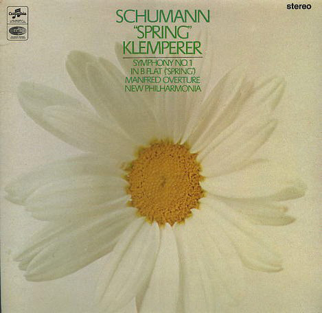 Schumann / Klemperer, New Philharmonia -