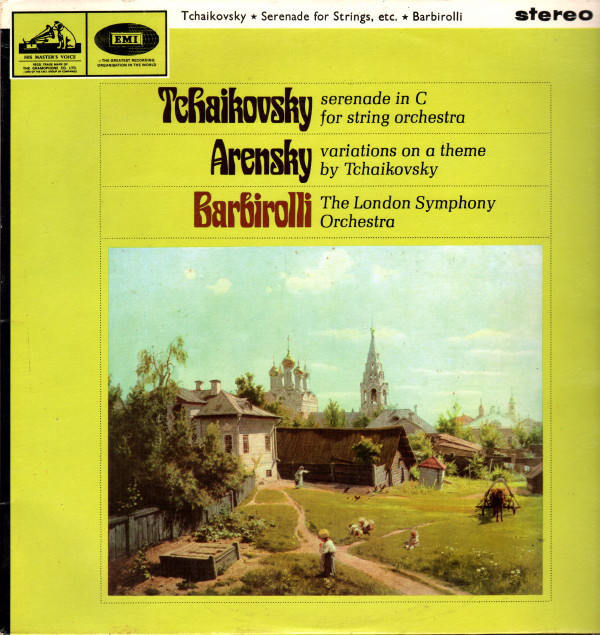 Tchaikovsky, Arensky, Barbirolli - Serenade In C For String Orchestra