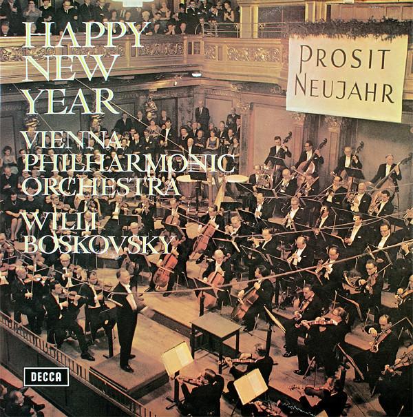 Vienna Philharmonic Orchestra, Willi Boskovsky - Happy New Year