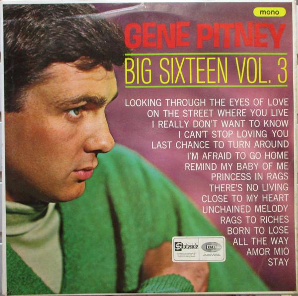 Gene Pitney - Big Sixteen Vol. 3