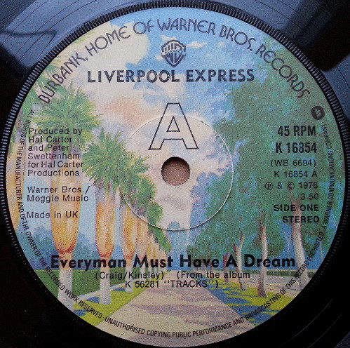 Liverpool Express - Everyman Must Have A Dream
