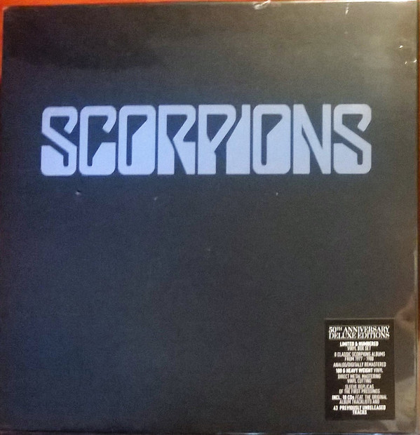 Scorpions - 50th Anniversary Deluxe Editions (Vinyl Boxset)