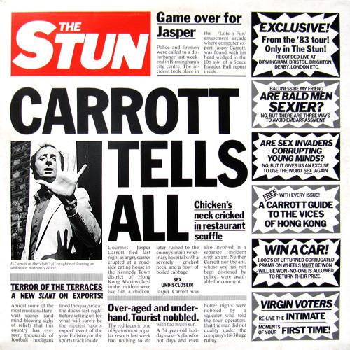 JASPER CARROTT - The Stun (Carrott Tells All) - 33T