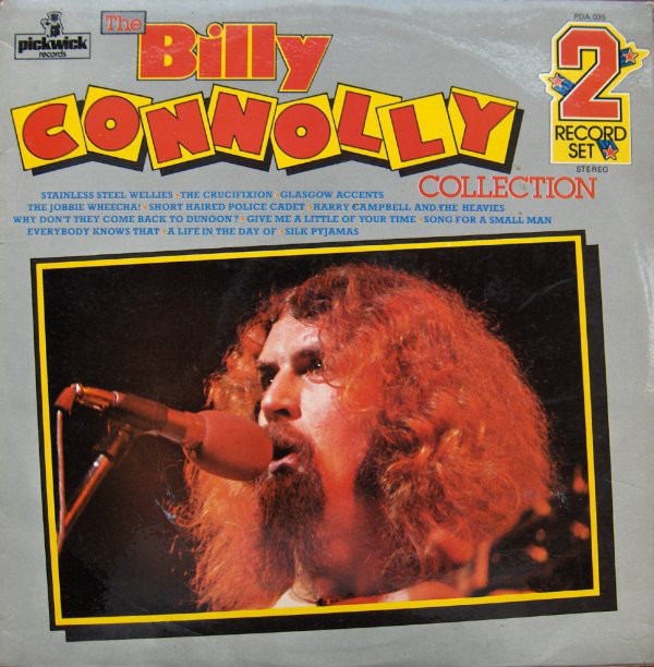 BILLY CONNOLLY - The Billy Connolly Collection - 33T x 2