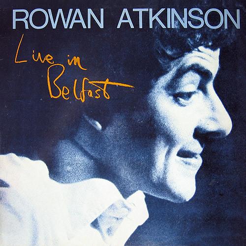 ROWAN ATKINSON - Live In Belfast - 33T