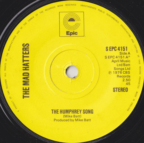 The Mad Hatters - The Humphrey Song