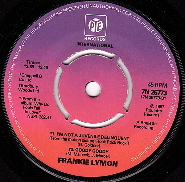 Frankie Lymon - Why Do Fools Fall In Love
