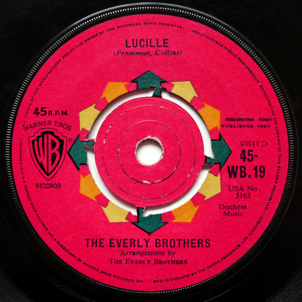 The Everly Brothers - Lucille / So Sad