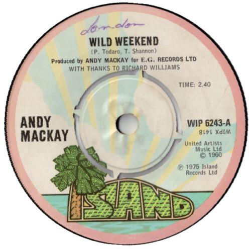 Andy Mackay - Wild Weekend
