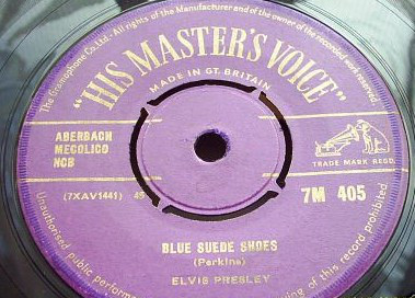 Elvis Presley - Blue Suede Shoes / Tutti Frutti