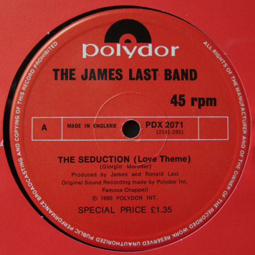 The James Last Band - The Seduction / Night Drive