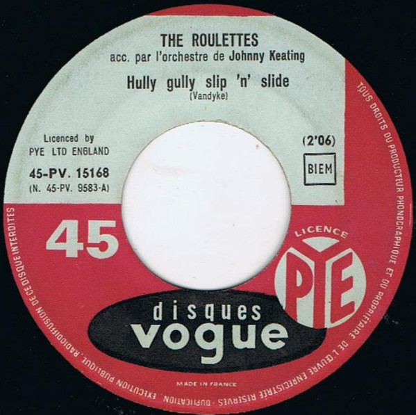The Roulettes - Hully Gully Slip And Slide