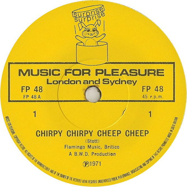 Top Of The Pops - Chirpy Chirpy Cheep Cheep