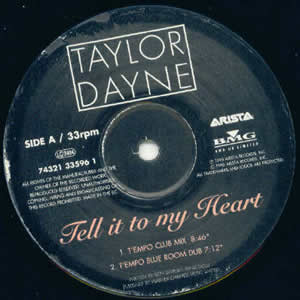 TAYLOR DAYNE - TELL IT TO MY HEART 95