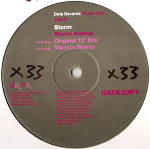 Storm - Storm Animal (Promo One)