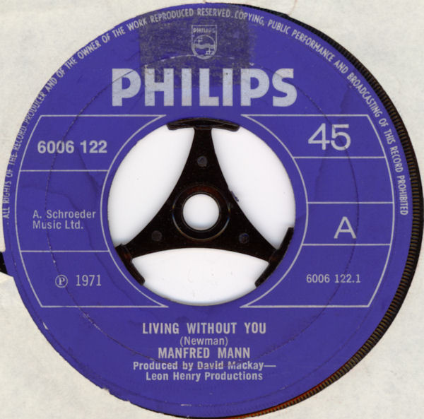 Manfred Mann - Living Without You