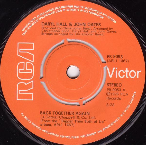 Daryl Hall & John Oates - Back Together Again