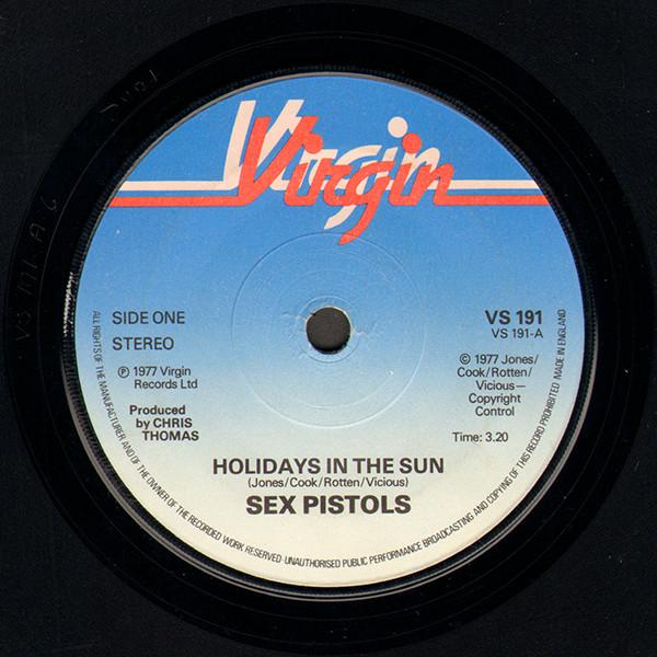 sex pistols holidays in the sun