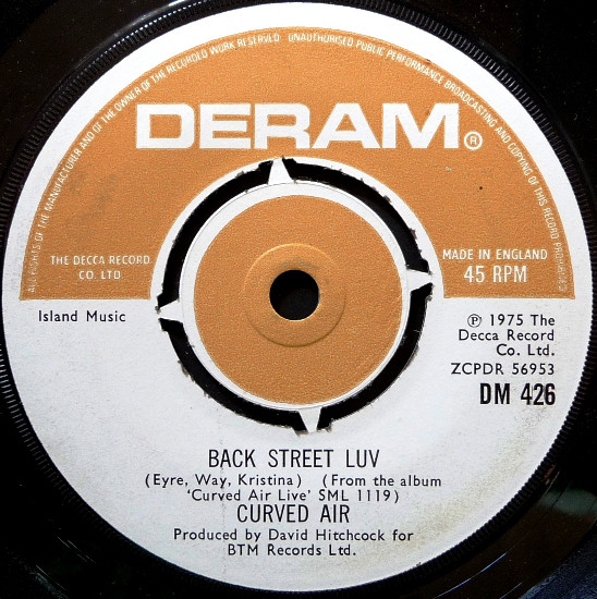 Curved Air - Back Street Luv (Live)