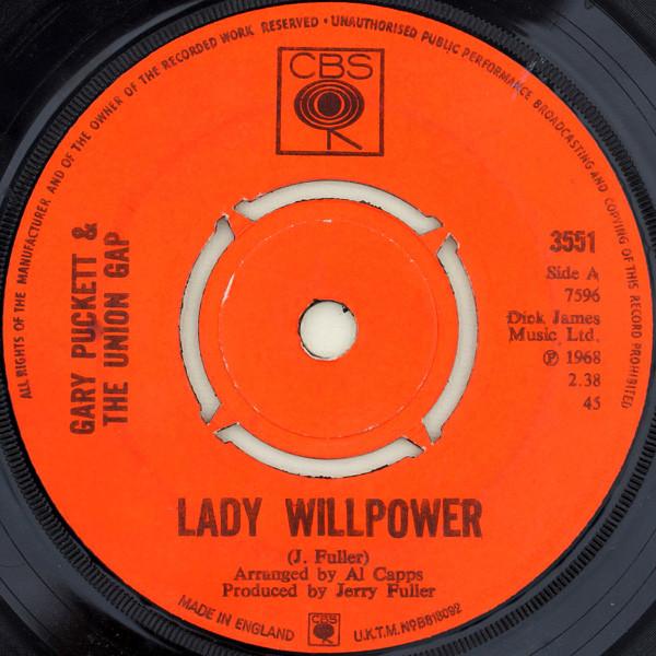 Gary Puckett & The Union Gap - Lady Willpower